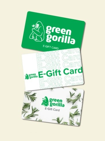 Green Gorilla Gift Cards
