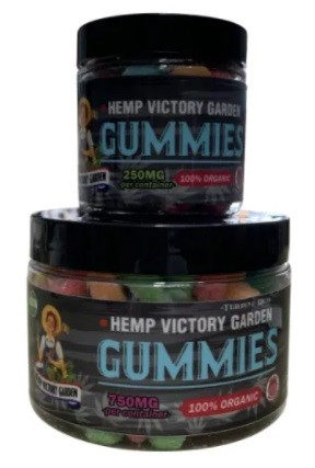 Hemp Victory Garden CBD Infused Gummies