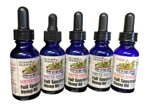 Hemp Victory Garden Water Soluble Full Spectrum Hemp Oil