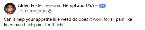 Hempland USA Customer Review 2