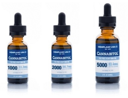 Hempland USA THC Free Hemp CBD Oil