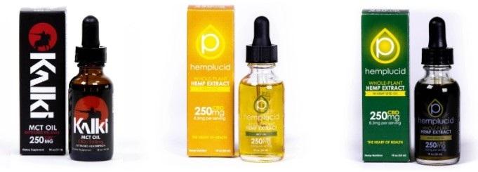 Hemplucid CBD Oil Tinctures