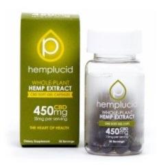 Hemplucid CBD Softgels
