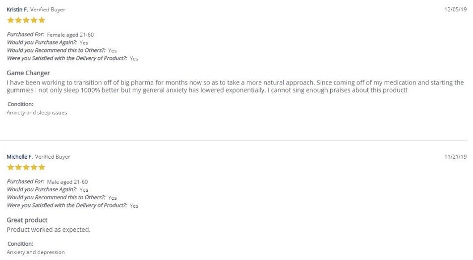 Highland Pharms CBD Gummies Customer Reviews