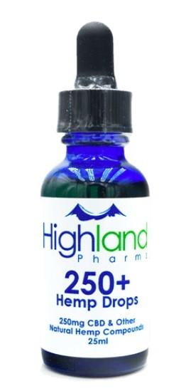 Highland Pharms Full Spectrum CBD Oils