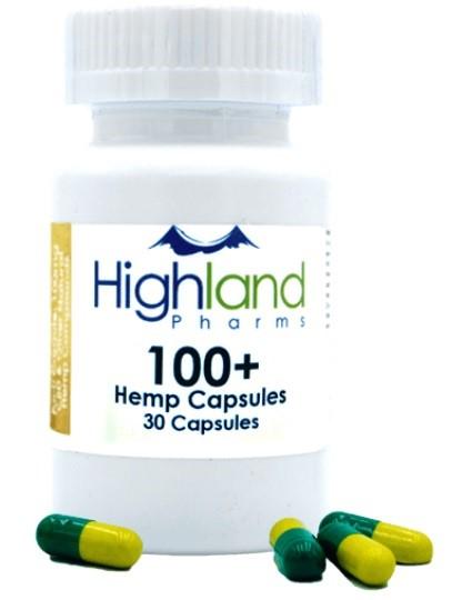 Highland Pharms Hemp Vegan Capsules