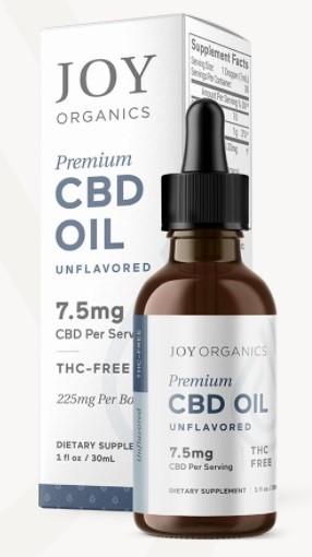 Joy Organics CBD Oil