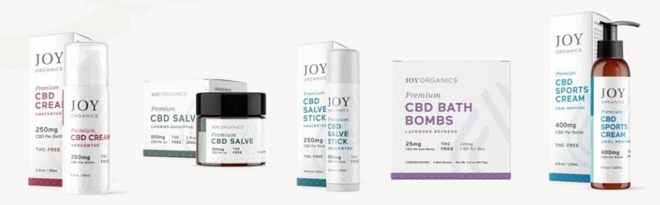 Joy Organics CBD Topicals