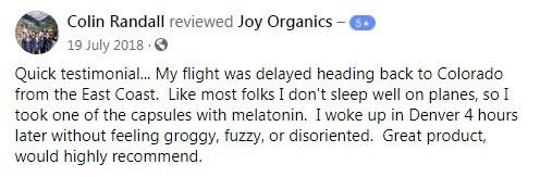 Joy Organics Customer Review 4