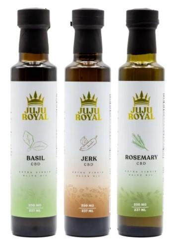 Juju Royal CBD Extra Virgin Olive Oil