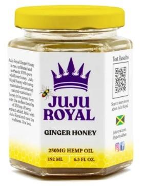 Juju Royal CBD Ginger Honey