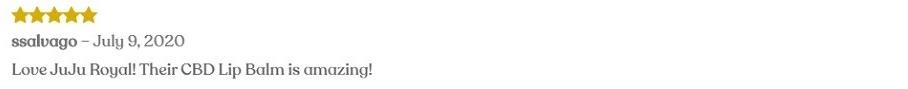 Juju Royal CBD Topicals Customer Reviews