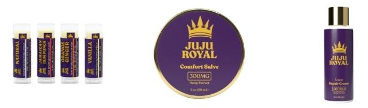 Juju Royal CBD Topicals