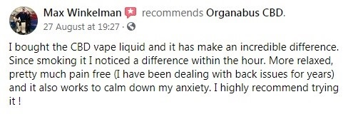 Organabus CBD Customer Review 2