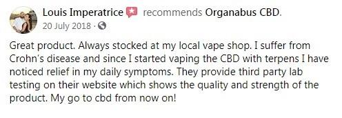 Organabus CBD Customer Review 4