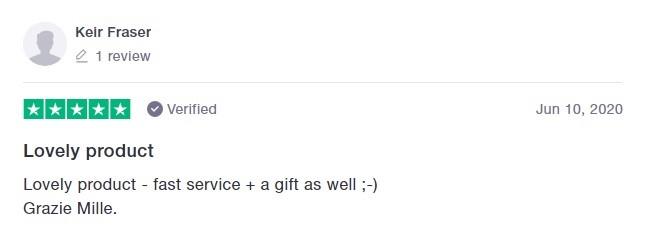 Pura Vida CBD Customer Review 2