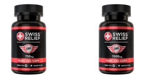 Swiss Relief CBD Capsules