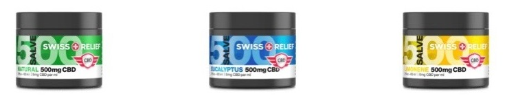 Swiss Relief CBD Salves
