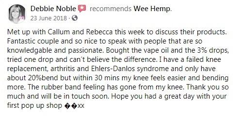 The Wee Hemp Company Customer Review 5