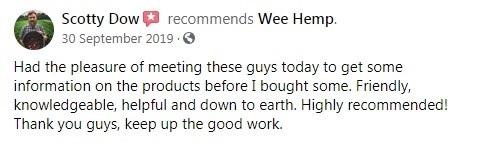 The Wee Hemp Company Customer Review