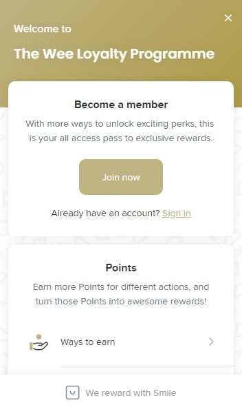 The Wee Hemp Company Rewards Program
