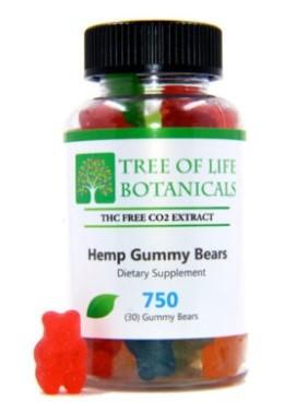 Tree of Life Botanicals CBD Gummies