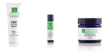 Tree of Life Botanicals CBD Skincare