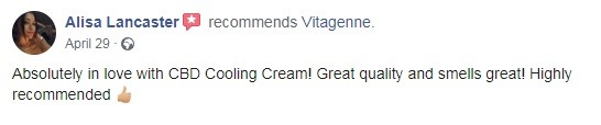 Vitagenne Customer Reviews 2