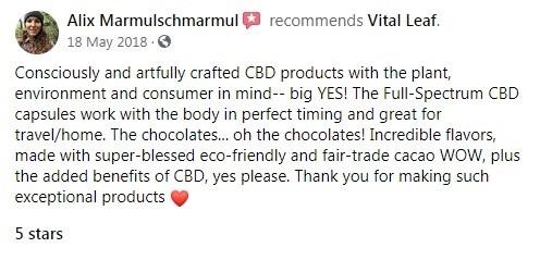Vital Leaf Customer Review