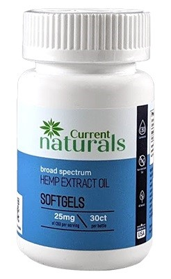 Current Naturals CBD Capsules