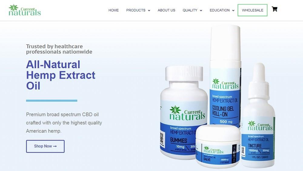 Current Naturals Website