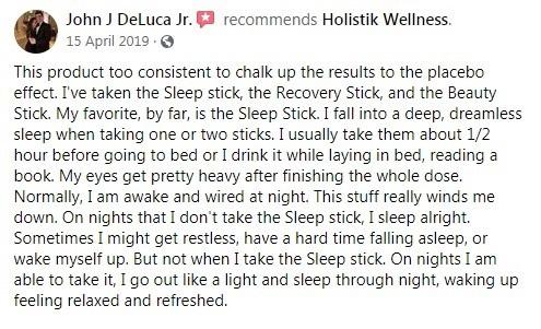 Holistik Wellness Customer Review 3