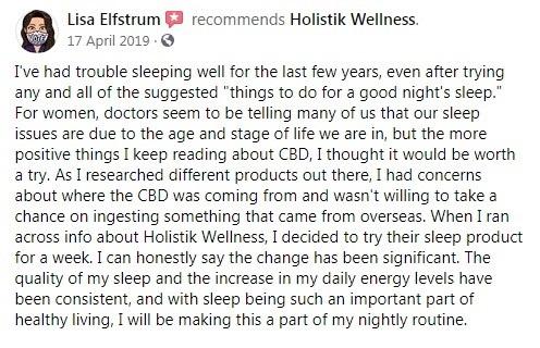 Holistik Wellness Customer Review 4