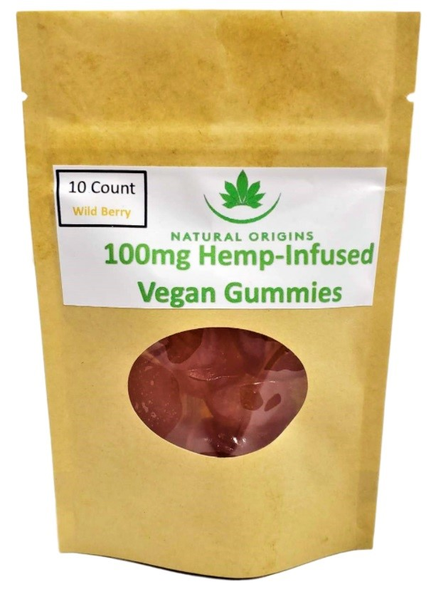 Holy Grail CBD Natural Origins Vegan Gummies
