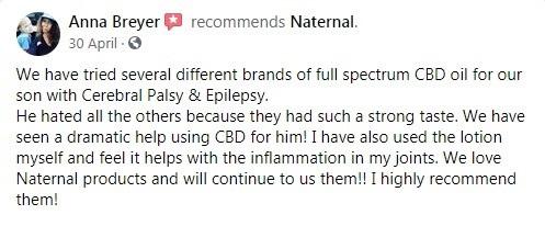 Naternal Customer Review 2