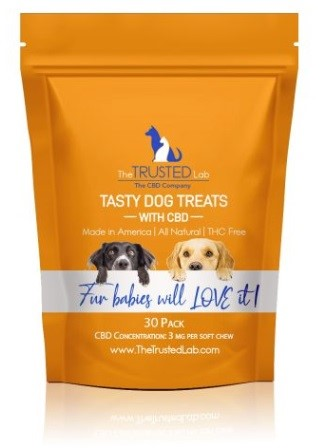 The Trusted Lab CBD Dog Treats