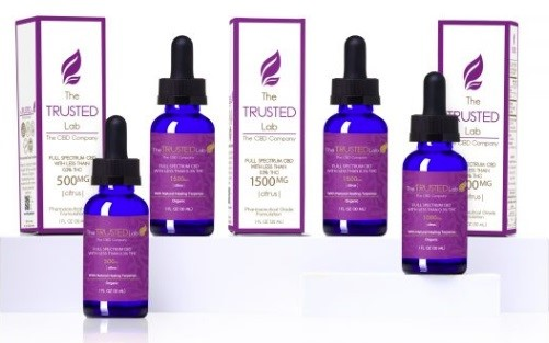 The Trusted Lab CBD Oils