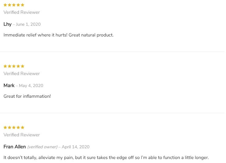 The Trusted Lab CBD Topicals Customer Reviews