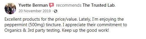 The Trusted Lab Customer Review 3