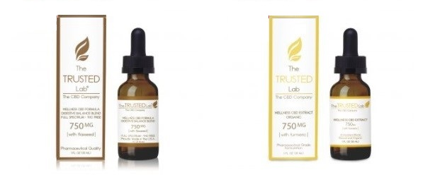 The Trusted Lab Flaxseed and Turmeric Wellness Oils