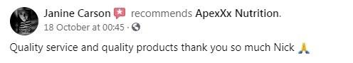 Apexxx CBD Customer Review 5
