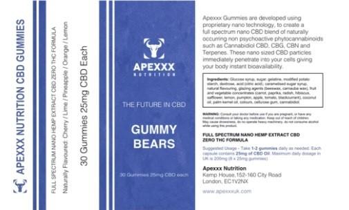 Apexxx CBD Gummies