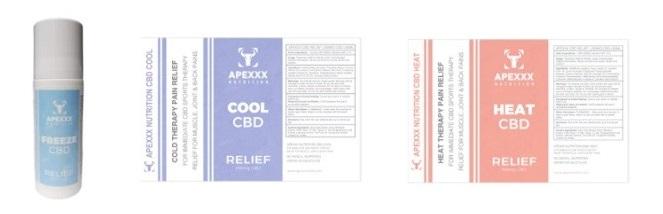 Apexxx CBD Topicals