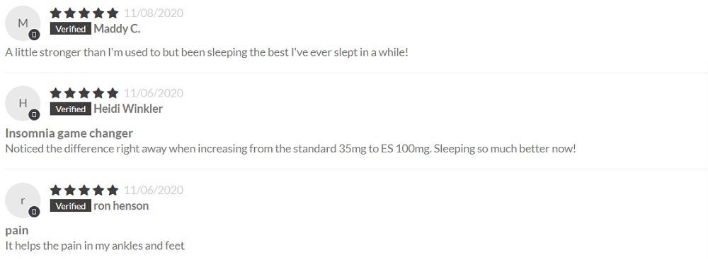 CBD Essence CBD Extra Strength Capsules Customer Reviews