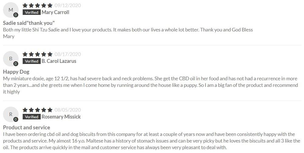CBD Essence CBD For Pets Customer Reviews