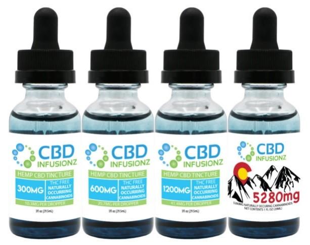 CBD Infusionz Broad Spectrum CBD Oil