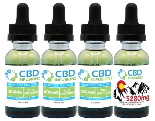 CBD Infusionz Full Spectrum CBD Oil