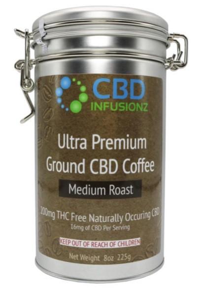 CBD Infusionz THC Free CBD Coffee