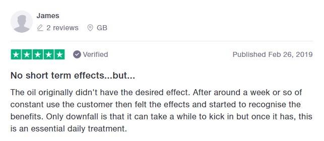 CannaBoss CBD Customer Review 2