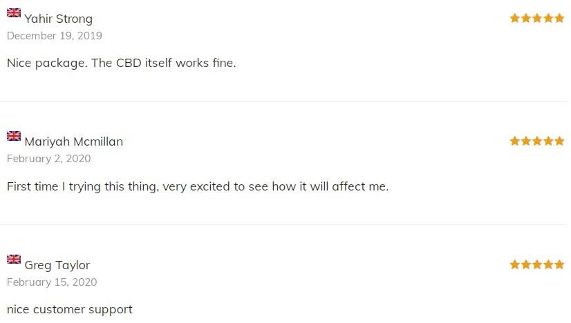 Canzon CBD Isolates Customer Reviews